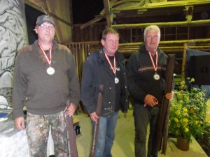 Sølv til Uldum Sportsfiskerforening hold II 4. mand var smuttet hjem.