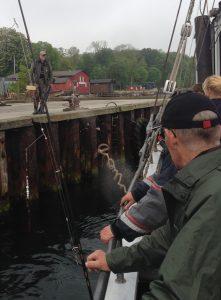 Torben fra Kolding hold 2 bliver hentet på Middelfart Havn
